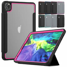 For Apple iPad Pro 12.9/11 2020 2018 Smart Shockrpoof Case with Screen Protector