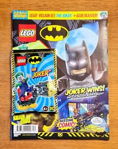 NEW LEGO SPECIAL EDITION DC BATMAN MAGAZINE EXCULSIVE THE JOKER MINIFIGURE NEW