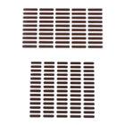 50/70pcs Universal Phone Speaker Earpiece Net Anti Dust Proof Mesh Sticker