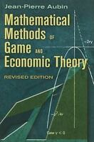 Mathematical Methods of Game and Economic Theory: Revised Edition (Dover Books