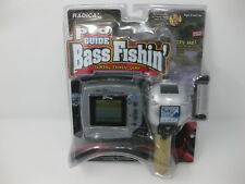 Radica Pro Guide Bass Fishing Talking Fishing Game OPEN BOX BUT NEW