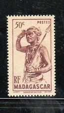 MALAGASY #272  1946  50c  SOUTHERN DANCER      MINT VF LH  O.G