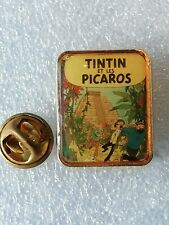 Pin's Pins Tintin et Milou bd Hergé comic strip et les Picaros