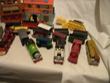 Thomas Cargo Train Set 100+ Piece Lot, 20l Engines/Cars, Roundhouse Lots of trac