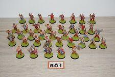 Warhammer Fantasy Vikings Norse Militia Warriors Archers Command x 39 Metal 501