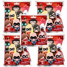 Disney Pixar Incredibles 2 Figural Keyring Lot of 5 Sealed Blind Bags