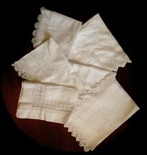 Bundle of Antique Tray Cloths