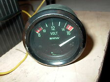 BMW R100CS Broken Green Face voltmeter pn  62131 244 668 R100RS R90S R100S