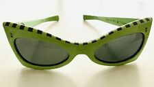 Mint Vintage Rare and Desirable 60s Victory Optical Dramatic Cat Eye Sunglasses