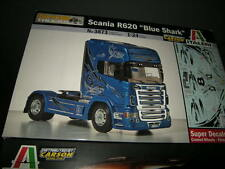 1:24 Italeri Show Trucks Scania R620 Blue Shark by Carson OVP