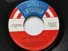 RAYS OF SUNSHINE - Ray's Bar And Grill 1970 PRIVATE COUNTRY Ray Griff 7""
