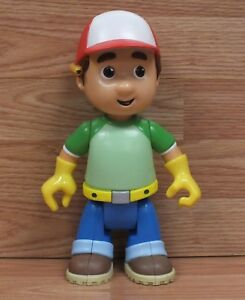 "Genuine Mattel 2007 Talking 10"" (inch) Handy Manny Toy Action Figure **READ**"