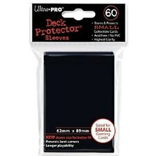 360 Ultra Pro Deck Protector Card Sleeves Black Small Yugioh Vanguard
