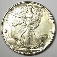 1938-D Walking Liberty Half Dollar 50C - Choice AU / UNC MS Details - Rare Date