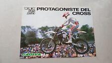 CAGIVA WMX 125 250 Cross depliant ORIGINALE genuine motorcycle brochure