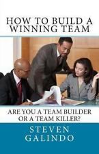 How to Build a Winning Team by Steven Galindo (2013, Paperback)