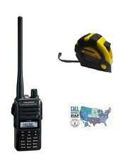 Yaesu FT-65R VHF/UHF 5W Handheld Transceiver with FREE Radiowavz Antenna Tape!