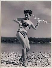 Mode JUNGE FRAU IM BIKINI YOUNG WOMAN Fashion * Vintage 50s SEUFERT Photo