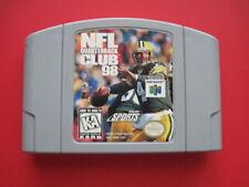 N64 NFL Quarterback Club 98 Nintendo 64 Game *Cleaned & Tested*