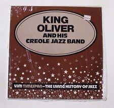 KING OLIVER Vjm Timespan-The Living History LP VJM Rec. 49 UK 1977 SEALED M 3A