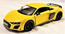 Kinsmart - 1:36 Scale Model 2020 Audi R8 Coupe Yellow (BBKT5422DY)