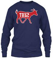Tb12 The Greatest Of All Time - Gildan Long Sleeve Tee T-Shirt