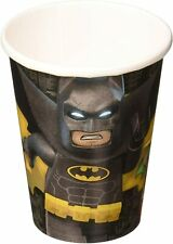 8oz 9oz Lego DC Batman Paper Cups Children Kids Party Tableware Supplies 266ml