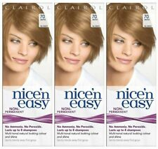 3 x Clairol Nice'N Easy 70 Beige Blonde Non permanent No peroxide 8 washes