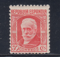 ESPAÑA (1936) NUEVO SIN FIJASELLOS MNH SPAIN -EDIFIL 734 (30 cts) - LOTE 1