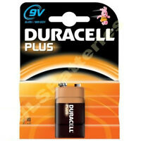 10 Duracell Plus 9V Batteries  MN1604 6LR61 PP3 Battery