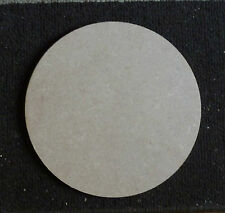 6mm thickness MDF Wooden Circle Shape Pack of 4 ( 25 cm  diameter  )