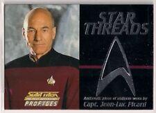 Star Trek TNG The Next Generation Profiles Star Threads Costume Card Picard