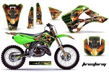 KAWASAKI KX 125/250 Graphic Kit AMR Racing Decal Sticker Part KX125/250 99-02 FS