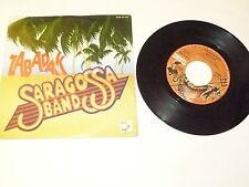 "SARAGOSSA BAND ""ZABADAK"" disco 45 giri DEVIL 1980 Ita"