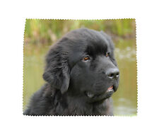 Newfoundland/Newfie Dog Soft Microfibre Glasses Lens Phone Screen Cleaning Cloth