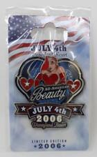 Disney Dlr Fourth of July All American Beauty Jessica Rabbit 2006 Pin Le 1000