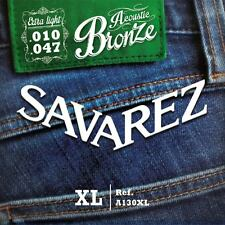 Savarez A130XL Acoustic  extra  light Gitarrensaiten 010 bis 047 Westerngitarre