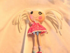 "2010 Lalaloopsy Full Size Silly hair doll Suzette La Sweet 13"" White Haired"