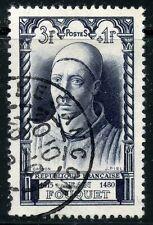 stamp / TIMBRE FRANCE OBLITERE N° 766 / CELEBRITE / VILLON