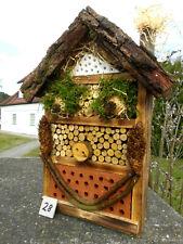 Insektenhotel für Wildbienen / Insekten und 1x Blumenwiese geschenkt  (28)