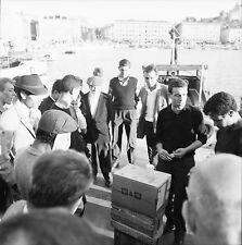 MARSEILLE c. 1960 - Jeux de Rue  Bouches du Rhône - Négatif 6 x 6 - N6 PROV49
