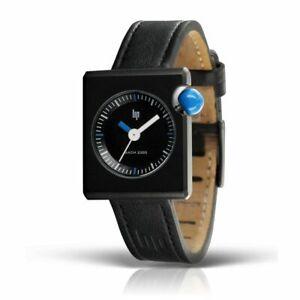 ORIGINAL! LIP Mach 2000 Square Mini Blue RARE 30 mm Watch