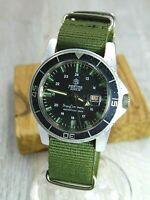 Mortima Super Datomatic vintage Diver mens watch Waterproof 100%