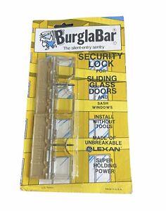 Burglabar 2 Pack—Anti Theft Sliding Glass Patio Basement Door Lock Child Safety