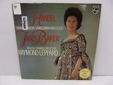 1973 Janet Baker Handel Cantana Lucrezia - Largo: Ombra Mai-Fu Vinyl LP Philips