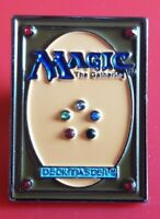 Magic the Gathering Card DeckMaster Pin Enamel Brooch Lapel Badge Cosplay Gaming