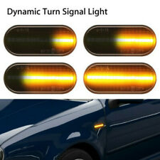 2Pc Sequential Side Marker Signal LED Light for VW MK4 Golf Jetta GTI R32 Beetle