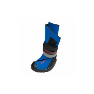 Neopaws Protective Rain Dog Boots | Anti Slip Waterproof Walker Shoes Puppy Blue