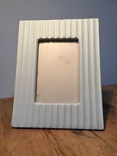"""PRELOVED LIGHT AQUA BLUE/GREEN TABLE PICTURE FRAME 7 1/2"""" X 9 1/2"""""""
