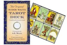The Original Rider Waite TAROT PACK Instructions 79 cards Telling set box NEW